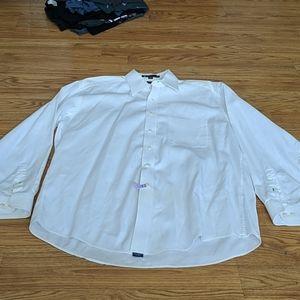 Tommy hilfiger men's button down white shirt